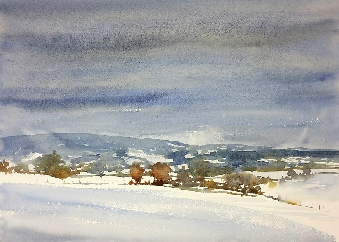 Limburg in sneeuw